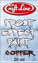 "Frost Effect Paint 20ml (copper) - Farba ""Efekt Szronu"" (miedź)"