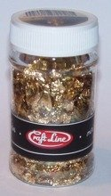 METAL FLAKES 100ml  (MIX - M2) - Cienkie listki folii