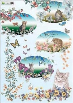 Papier do decoupage (155)