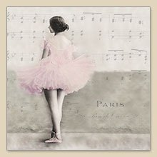 "Serwetka do decoupage ""Ballet Paris"""