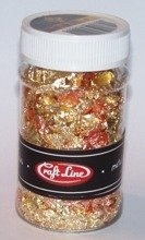 METAL FLAKES 100ml  (MIX - M4) - Cienkie listki folii