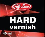 Twardy lakier 40ml - Hard varnish
