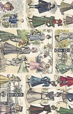 Papier do decoupage GC195