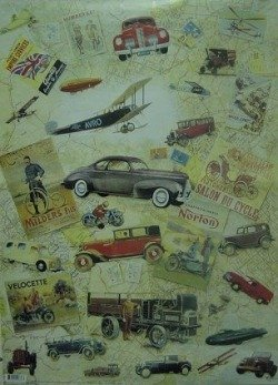 Papier do decoupage MC622