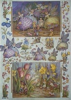 Papier do decoupage NS103