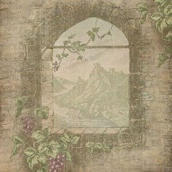 Papier do scrapbookingu - Rapunzel's View - 30,5 x 30,5cm